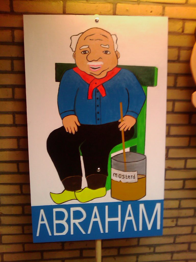 Abraham 50 Jaar Bord
